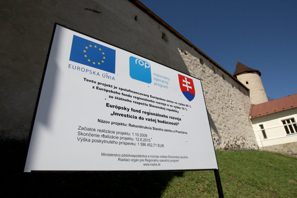 Slovakia drew EU funds intensively in 2015.