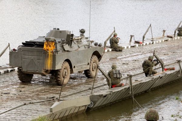 Slovak military vehicles are also sold to Egypt; illustrative stock photo.
