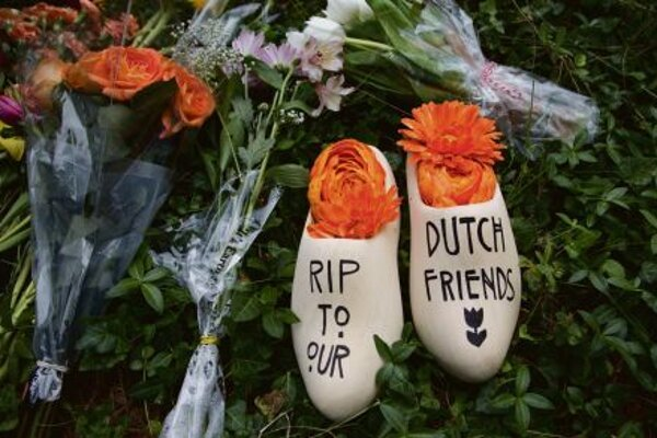 Of the 298 peoplewhodied in the plane crash, most were Dutch.