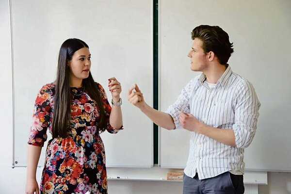 Students should learn how to debate.