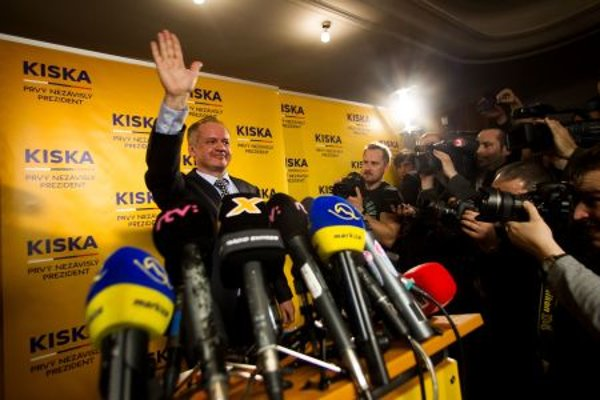 Andrej Kiska won the March presidential elections.