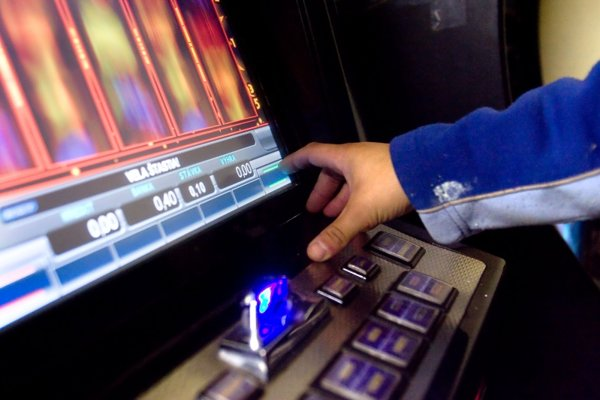 The number of gaming slot machines are decreasing in Slovakia.