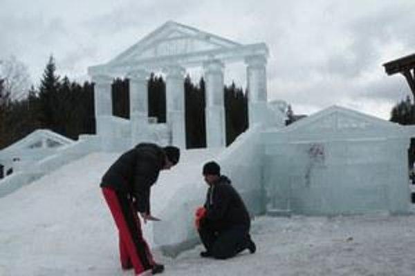 Ancient temple in Jasná