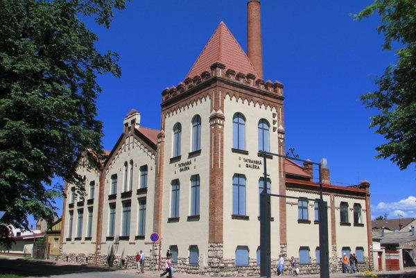 The Tatra Gallery in Poprad, illustrative stock photo.