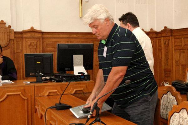 Viliam Mišenka at court on June 29, 2016