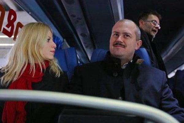 Marian Kotleba and his wife