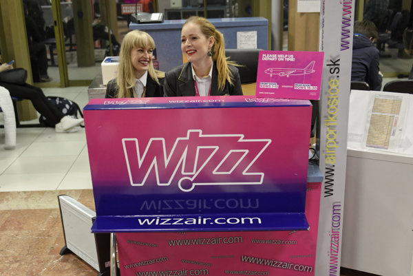 Wizz Air service, illustrative stock photo