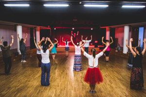 Dance workshops livened up the festival.
