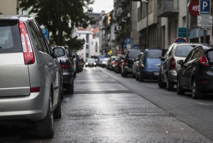 Parking is problematic in several boroughs of Bratislava