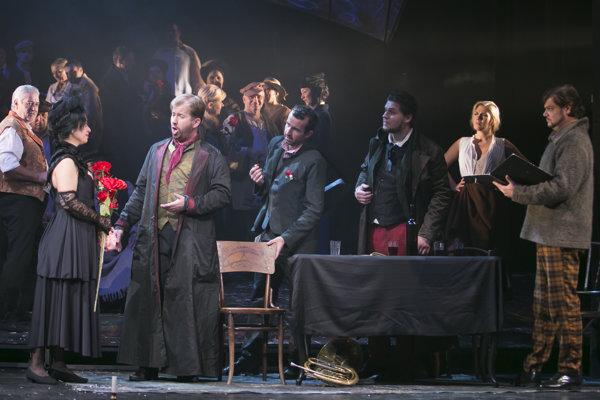 State Theatre Košice: La Bohéme by Giacomo Pucini