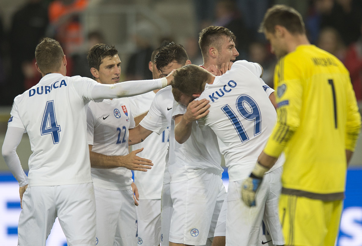Slovakia prepares for a crucial match against Scotland