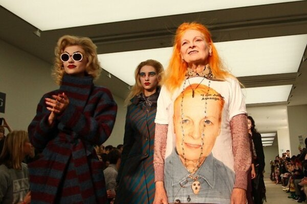 Vivienne Westwood and her newest collection #MANSS17