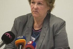Jana Dubovcová talks on illegal police detention rooms, October 19.