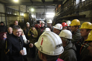 PM Robert Fico visiting the HBP on December 17.
