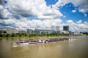Bratislava's skyline is changing.