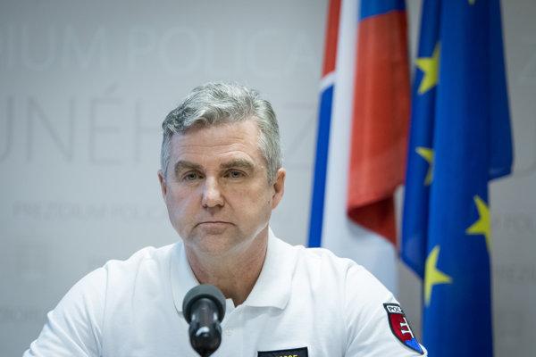 Police Corps President Tibor Gašpar