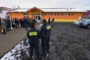 Roma patrols in Veľká Lomnica.