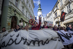 ... in the Michalská Street, downtown Bratislava