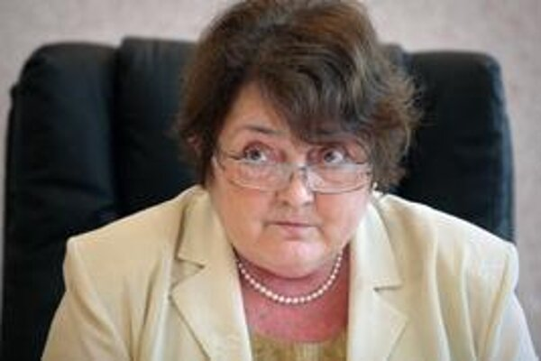 Head of Statistics Office Ľudmila Benkovičová