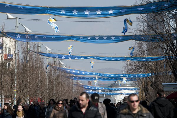 Kosovo celebrated the seventh anniversary of its independence in mid February.