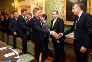 PM Robert Fico meeting with representatives of big investors in Slovakia.