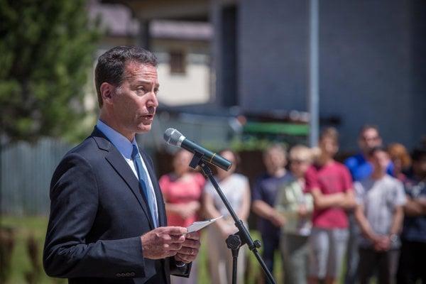 US Ambassador to Slovakia Adam Sterling
