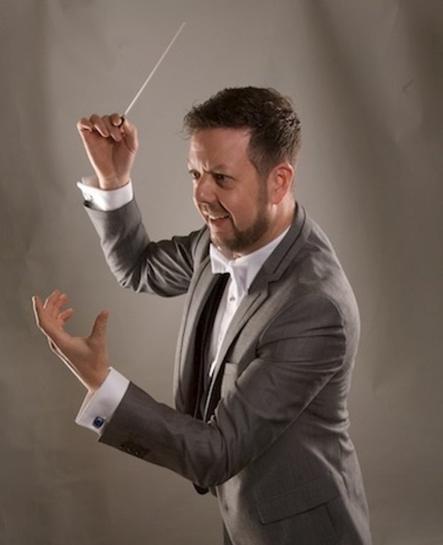 Simon Chalk, UK's conductor