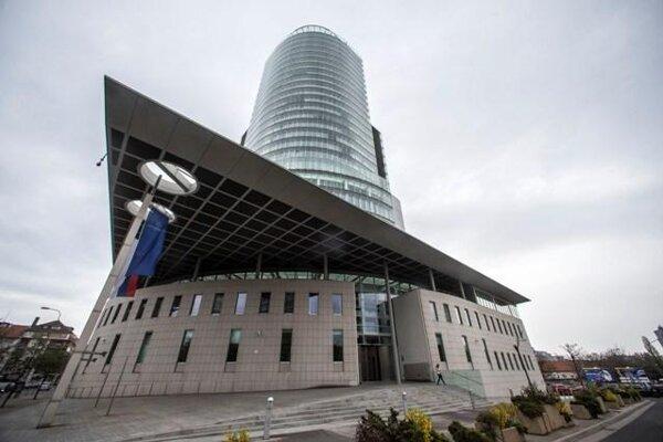 NBS building in Bratislava