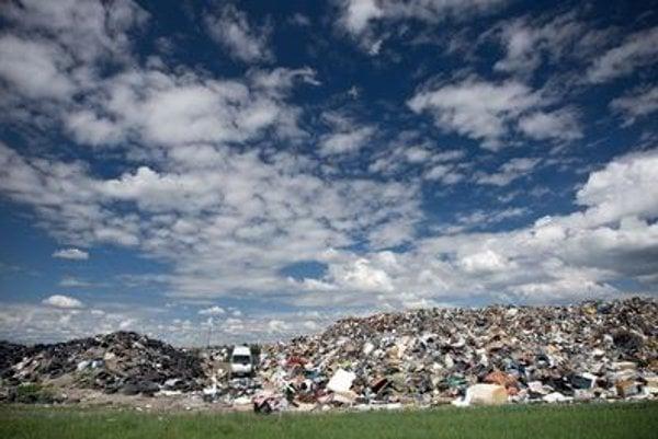 One of many landfills in Slovakia.