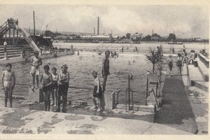 Lido during the second world war
