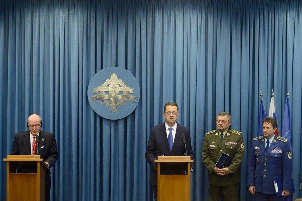 L-R: Theodor Sedgwick, Martin Glváč, Milan Maxim and Miroslav Korba.