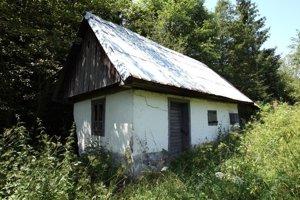 The construction of first Slovak sauna in Šumiac