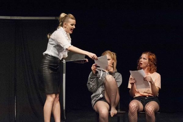 Slovak Theatre in London: Academy for Women