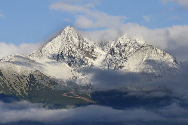 Lomnický štít in the High Tatras.