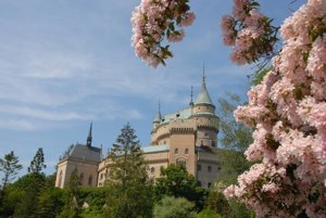 Romantic Bojnice Castle is one of Slovakia's favourite tourist destinations.