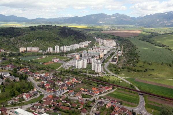 Liptovský Mikuláš, aerial view