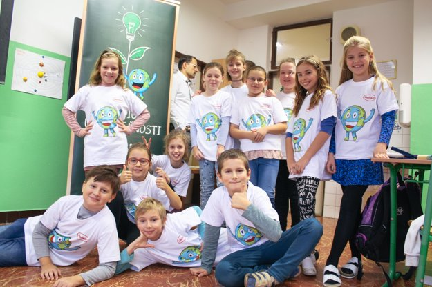 Students from the class 4.A at Nobelovo nám. in Bratislava have gained valuable knowledge about sustainability issues