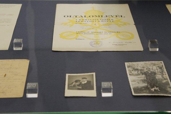 Exhibition about Engerau camp