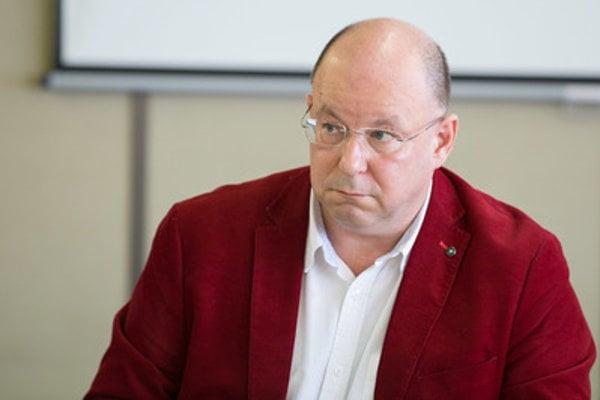 Jaroslav Rezník at the RTVS Council meeting January 18