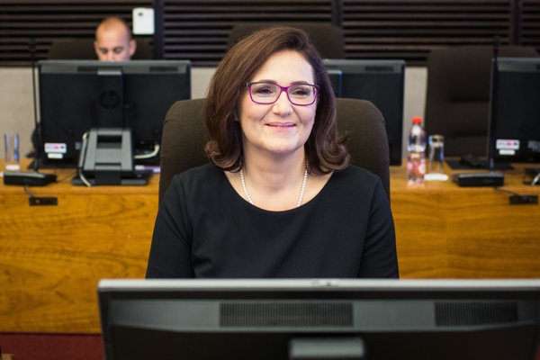 Education Minister Martina Lubyová