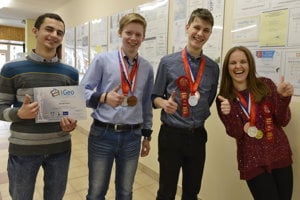 Four Prešov students shine in science around the world with outstanding projects.
