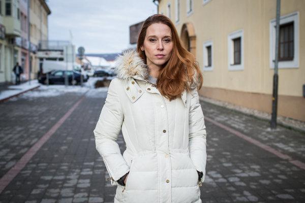 Private broadcaster TV JOJ's former reporter Michaela Saleh Suríniová