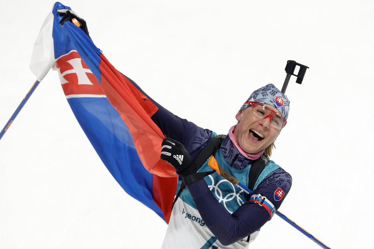 After 2 silvers, Anastasiya Kuzmina finally captures Olympic gold