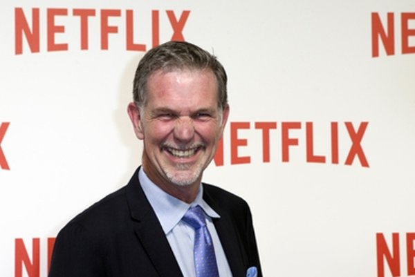 Reed Hastings announces Netflix expansion.