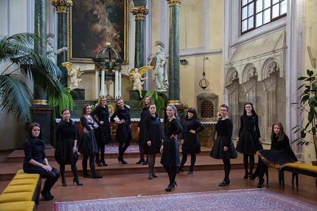 Voces Gregorianae Cassovienses at the inviting concerts of Hevhetia