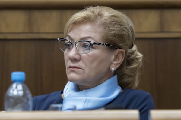 Culture Minister Ľubica Laššáková