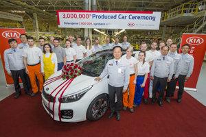 Kia Slovkaia produced 3-milllionth car.