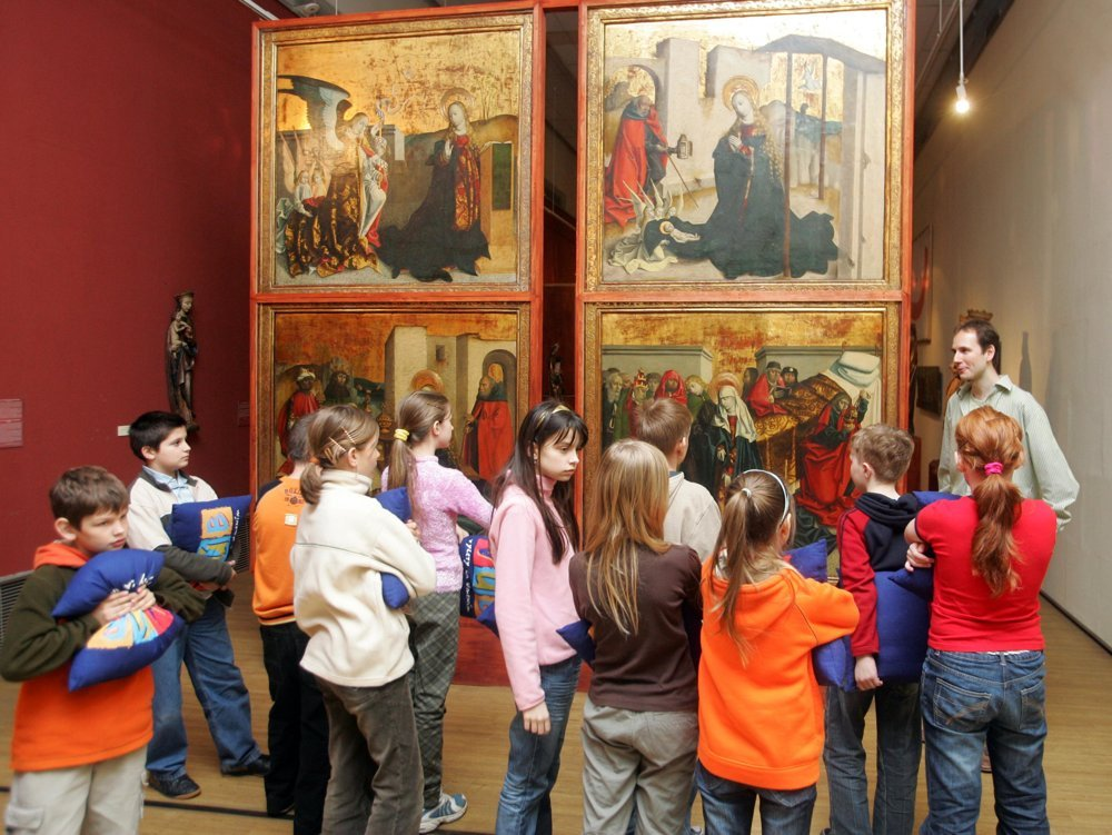 Galleries organise events for children to nurture the next generation of visitors.
