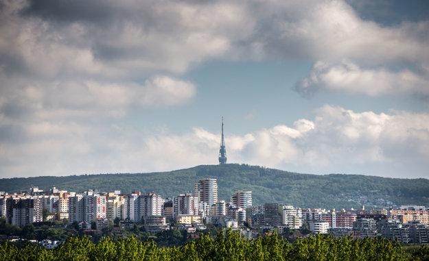 TV tower at the Kamzík hill
