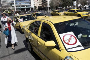 Traditional taxi services have protested against Uber in several cities.